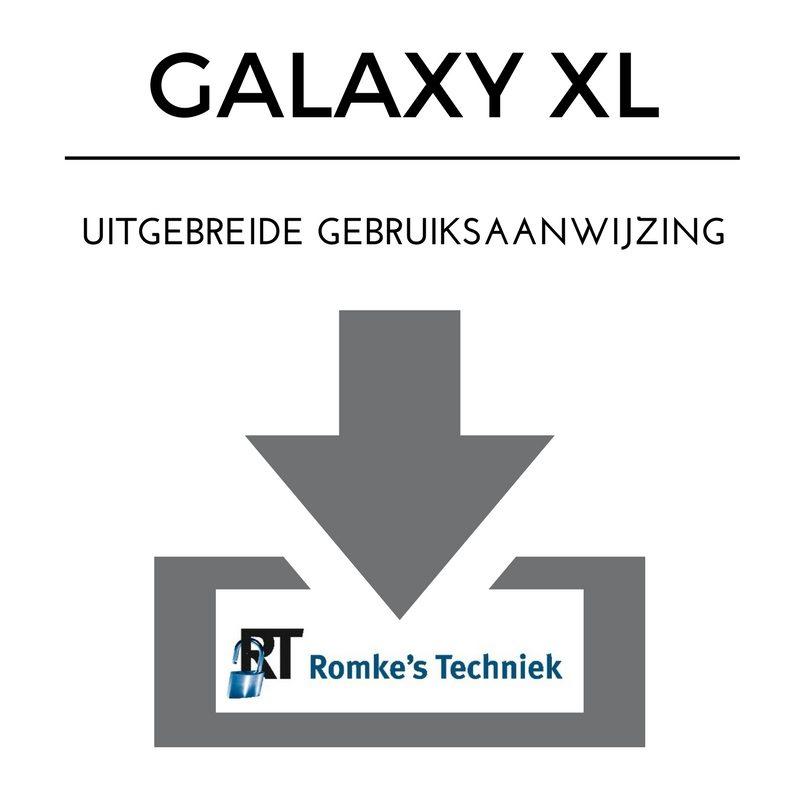uitgebreide gebruiksaanwijzing galaxy xl